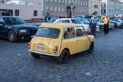 Viejo tonelero del coche de Helsinki, Finlandia Imagen de archivo