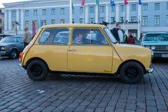 Viejo tonelero del coche de Helsinki, Finlandia Fotos de archivo