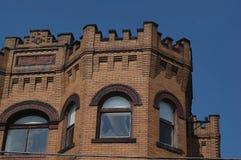 Viejo top del edificio Imagenes de archivo