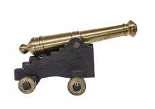 Viejo Toy Cannon Imagenes de archivo
