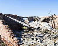 Viejo una construcción derrumbada Fotografía de archivo