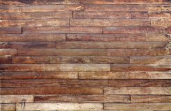 Pared de madera vieja grande Imagen de archivo