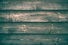 Viejo verde de madera y textura marrón del fondo Tabla de madera retra Contexto de la madera del vintage Decoraci?n interior Made fotografía de archivo libre de regalías