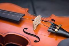 Viejo vintage clásico del violín Fotos de archivo libres de regalías
