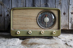 Viejo vintage de radio Foto de archivo