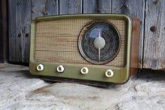 Viejo vintage de radio Foto de archivo libre de regalías