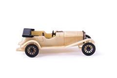 Viejo, vintage, juguete plástico del coche Imágenes de archivo libres de regalías