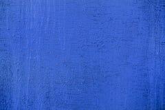 Viejo, vintage, madera contrachapada del azul del oblepicha Imagenes de archivo