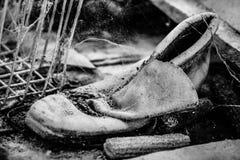 Viejo, vintage, utilizado, dañado, polvoriento, sucio, antiguo, industrial, Fotografía de archivo