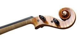 Viejo violín con el camino Fotografía de archivo libre de regalías