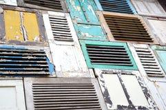 Viejo Windows Imagen de archivo