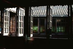 Viejo Windows Fotos de archivo libres de regalías