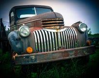 Viejos abandonados toman el carro Fotos de archivo libres de regalías
