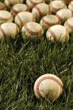 Viejos béisboles Fotos de archivo