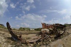 Viejos barco/ruina Imágenes de archivo libres de regalías