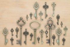 Viejos claves Foto de archivo