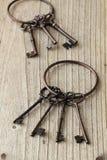 Viejos claves Fotos de archivo libres de regalías