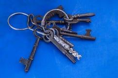 Viejos claves del vintage Fotos de archivo libres de regalías