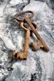 Viejos claves esqueléticos Imagen de archivo
