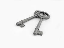 Viejos claves oxidados Imagen de archivo