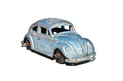 Viejos coche del juguete/fallo de funcionamiento de Volkswagon Imágenes de archivo libres de regalías