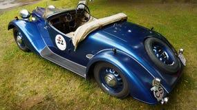 Viejos deportes y coches de competición Fotografía de archivo libre de regalías