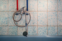 Viejos detalles del cuarto de baño Imagenes de archivo
