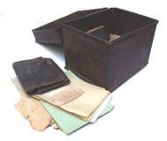 Viejos documentos Fotografía de archivo libre de regalías