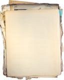 Viejos documentos Fotografía de archivo