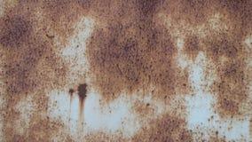 Viejos fondo y textura del moho del hierro del metal metrajes
