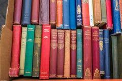 Viejos hallazgos de la librería Fotografía de archivo libre de regalías
