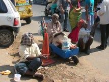 Viejos hombres indios Foto de archivo libre de regalías