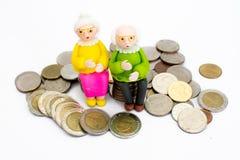 Viejos hombres, mujeres Fotografía de archivo libre de regalías