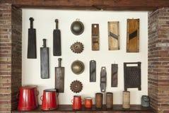 Viejos items del hogar Fotos de archivo