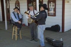 Viejos músicos del mayor de los temporizadores Foto de archivo