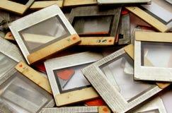 Viejos marcos de la diapositiva imágenes de archivo libres de regalías