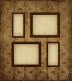 Viejos marcos de la foto Imagen de archivo