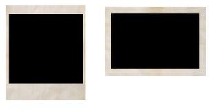 Viejos marcos de la foto Imágenes de archivo libres de regalías