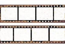 Viejos marcos de película Imagen de archivo