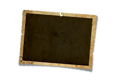 Viejos marcos del papel del grunge Foto de archivo libre de regalías