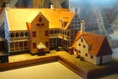 Viejos modelos de la ciudad Imagen de archivo