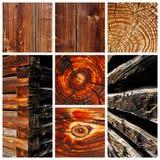 Viejos motivos secados al sol de madera y de la madera Fotos de archivo libres de regalías