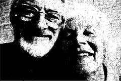 Viejos pares Imágenes de archivo libres de regalías