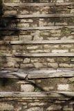 Viejos pasos de progresión de piedra Foto de archivo libre de regalías