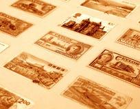 Viejos sellos Fotografía de archivo