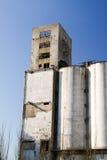 Viejos silos Imagen de archivo libre de regalías