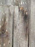 Viejos tableros de madera clavados fotografía de archivo libre de regalías