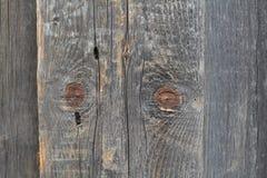 Viejos tableros de madera de la cerca Imagenes de archivo