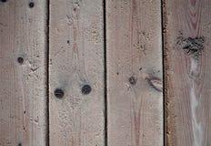 Viejos tableros texturizados de madera Foto de archivo libre de regalías