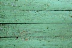 Viejos tableros verdes de madera Fondo Fotografía de archivo